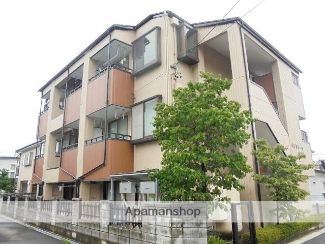 長野県松本市、松本駅バス13分山辺中学校前下車後徒歩4分の築21年 3階建の賃貸マンション