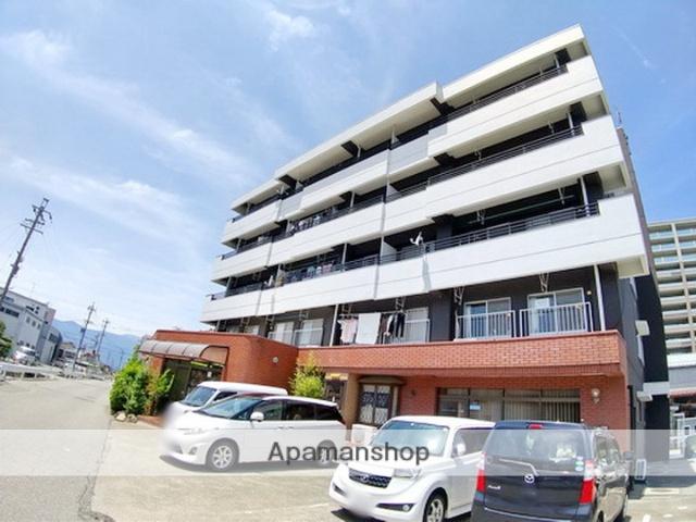 長野県松本市、松本駅徒歩13分の築34年 5階建の賃貸マンション