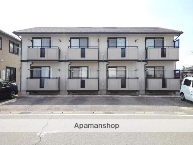 長野県松本市、松本駅徒歩22分の築18年 2階建の賃貸アパート