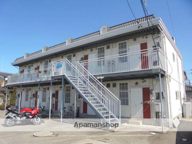 長野県松本市、下新駅徒歩1分の築27年 2階建の賃貸アパート