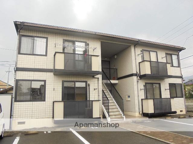 長野県松本市、松本駅バス15分筑摩小学校入口下車後徒歩3分の築18年 2階建の賃貸アパート
