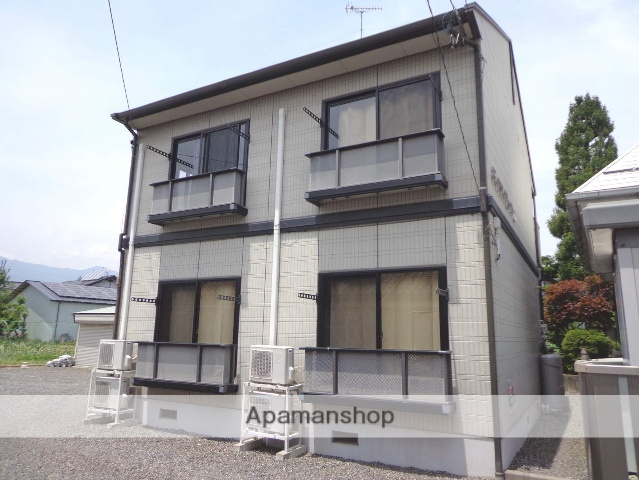 長野県松本市、北新・松本大学前駅徒歩7分の築16年 2階建の賃貸アパート