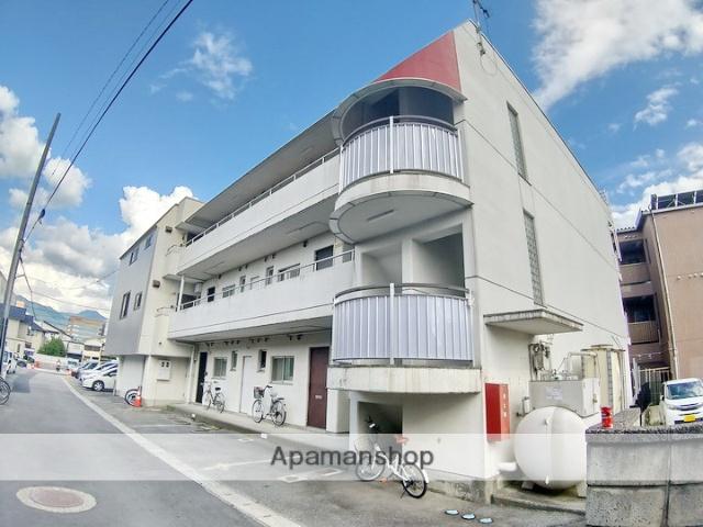 長野県松本市、松本駅徒歩5分の築31年 3階建の賃貸マンション