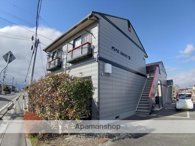 長野県松本市、北松本駅徒歩12分の築17年 2階建の賃貸アパート