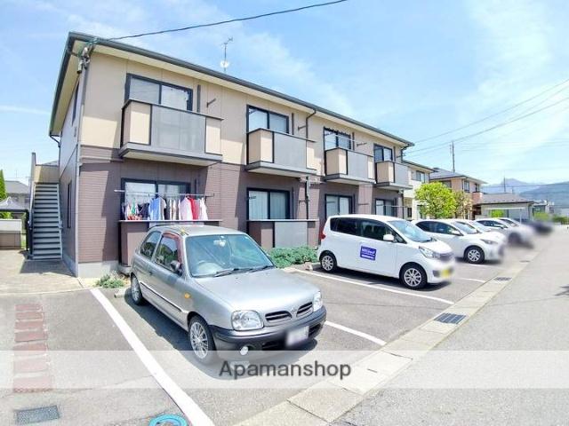 長野県松本市、南松本駅徒歩19分の築18年 2階建の賃貸アパート