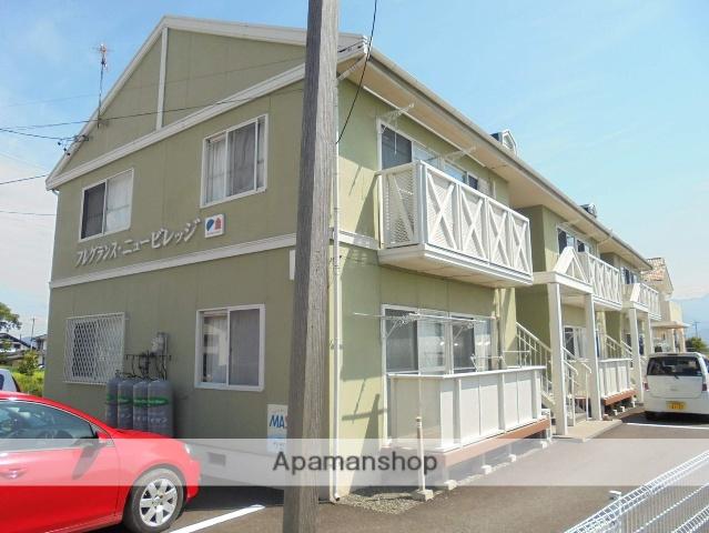 長野県松本市、下新駅徒歩6分の築25年 2階建の賃貸アパート