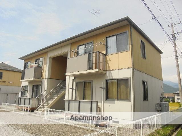 長野県松本市、波田駅徒歩11分の築15年 2階建の賃貸アパート