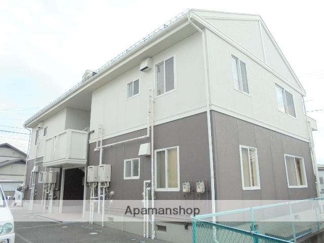 長野県松本市、下新駅徒歩12分の築24年 2階建の賃貸アパート