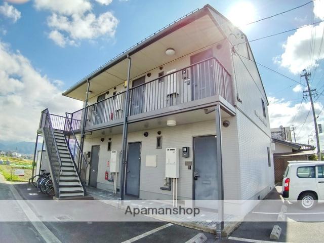 長野県松本市、大庭駅徒歩2分の築14年 2階建の賃貸アパート