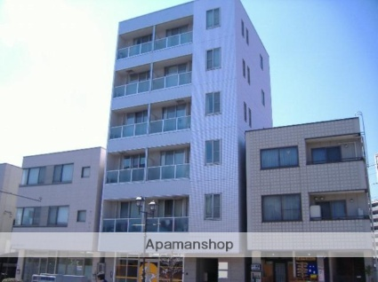 長野県松本市、北松本駅徒歩8分の築15年 6階建の賃貸マンション
