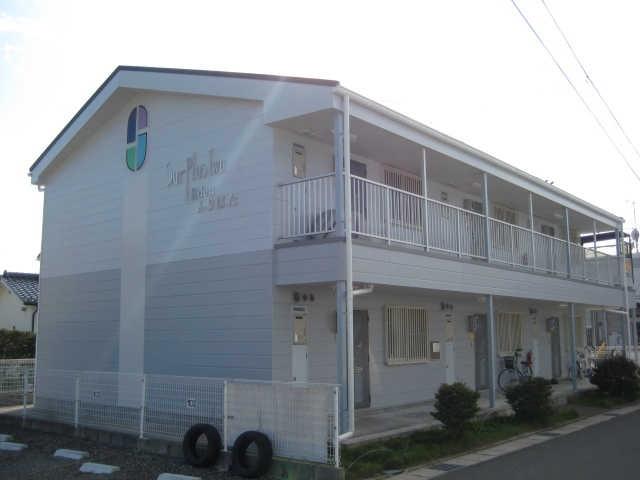 長野県松本市、松本駅バス9分西筑摩下車後徒歩3分の築22年 2階建の賃貸アパート