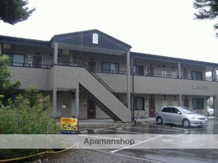 長野県松本市、松本駅バス13分惣社下車後徒歩2分の築15年 2階建の賃貸アパート
