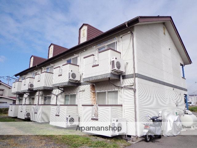 長野県松本市、松本駅徒歩17分の築25年 2階建の賃貸アパート