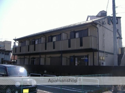 長野県松本市、松本駅徒歩5分の築19年 2階建の賃貸アパート