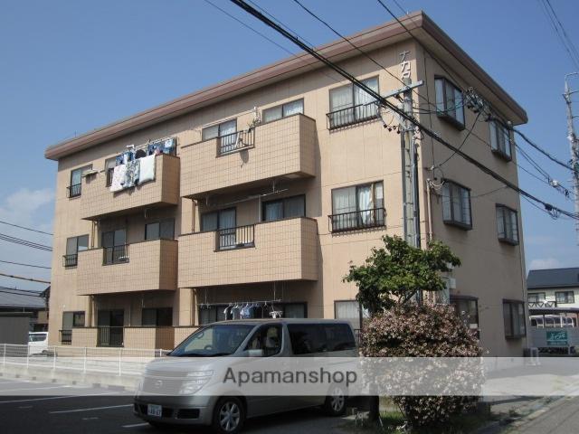 長野県松本市、南松本駅徒歩18分の築25年 3階建の賃貸マンション