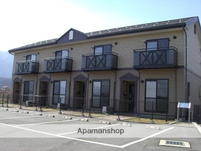 長野県大町市、信濃常盤駅徒歩15分の築12年 2階建の賃貸テラスハウス