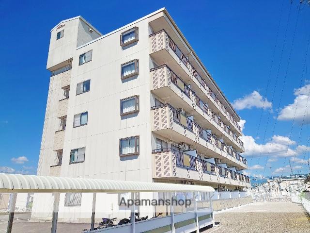 長野県安曇野市、豊科駅徒歩9分の築19年 5階建の賃貸マンション