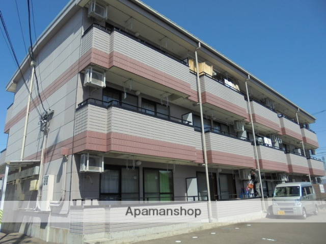 長野県松本市、島高松駅徒歩10分の築15年 3階建の賃貸マンション