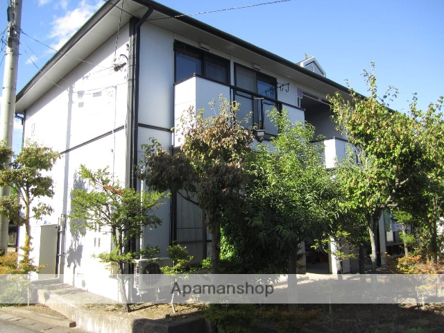 長野県安曇野市、穂高駅徒歩20分の築23年 2階建の賃貸アパート