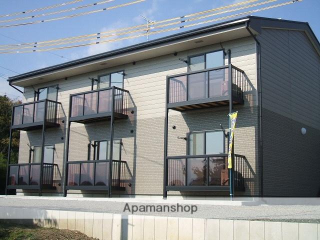 長野県安曇野市、田沢駅徒歩12分の築10年 2階建の賃貸アパート