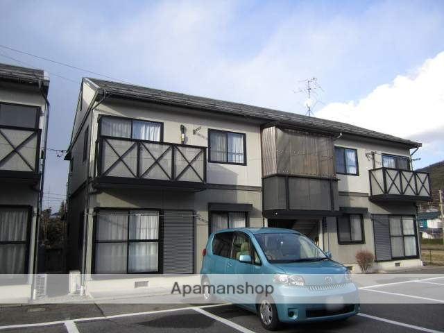 長野県大町市、北大町駅徒歩11分の築21年 2階建の賃貸アパート