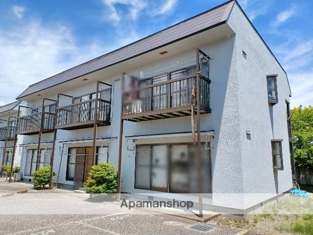 長野県安曇野市、梓橋駅徒歩10分の築29年 2階建の賃貸アパート
