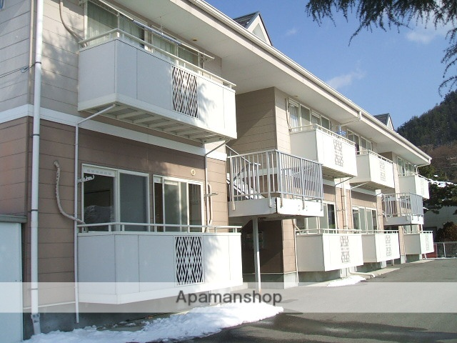 長野県大町市、南大町駅徒歩32分の築21年 2階建の賃貸アパート