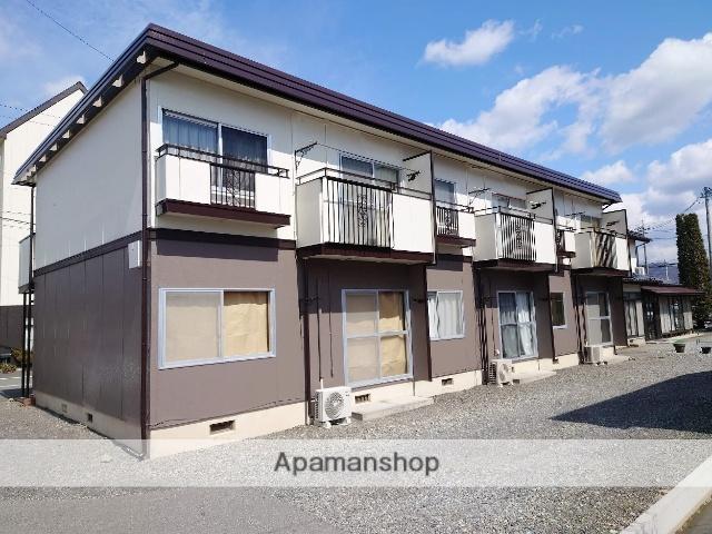 長野県安曇野市、南豊科駅徒歩10分の築27年 2階建の賃貸アパート