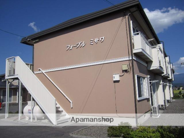 長野県安曇野市、梓橋駅徒歩15分の築25年 2階建の賃貸アパート