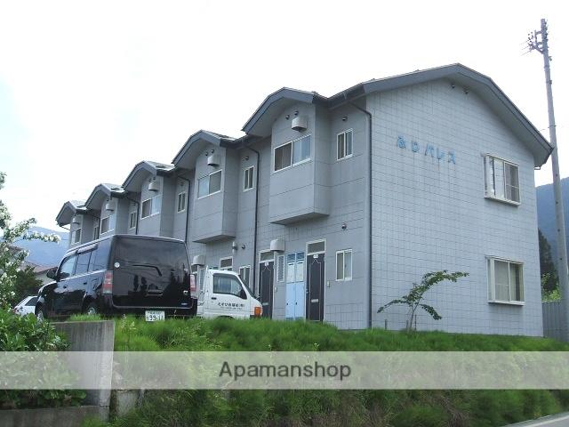 長野県安曇野市、一日市場駅徒歩60分の築19年 2階建の賃貸アパート