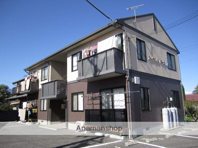 長野県安曇野市、梓橋駅徒歩23分の築22年 2階建の賃貸アパート