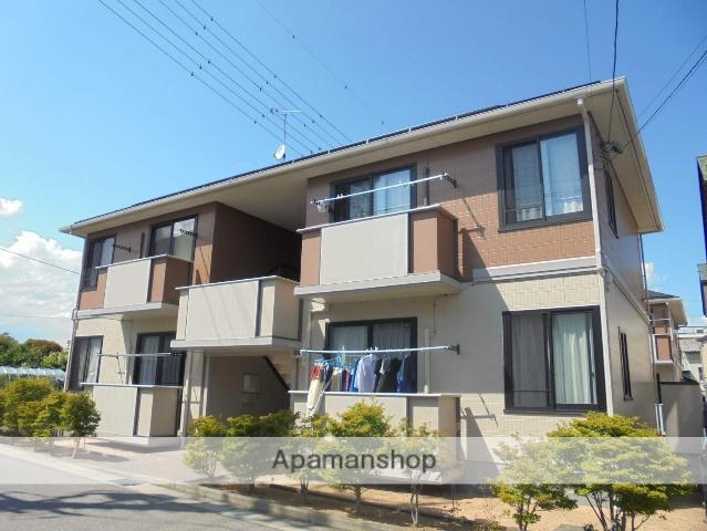 長野県松本市、島高松駅徒歩8分の築15年 2階建の賃貸アパート