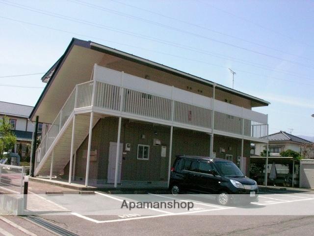 長野県松本市、新村駅徒歩20分の築20年 2階建の賃貸アパート