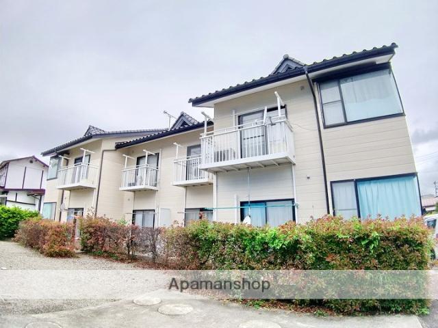 長野県大町市、信濃大町駅徒歩20分の築21年 2階建の賃貸アパート