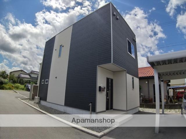 長野県松本市、波田駅徒歩7分の新築 2階建の賃貸一戸建て