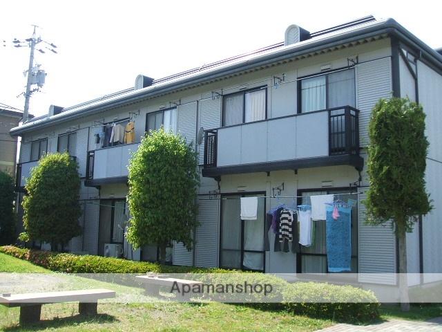 長野県松本市、波田駅徒歩8分の築23年 2階建の賃貸アパート