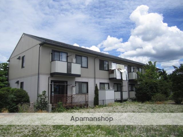長野県安曇野市、穂高駅徒歩15分の築20年 2階建の賃貸アパート