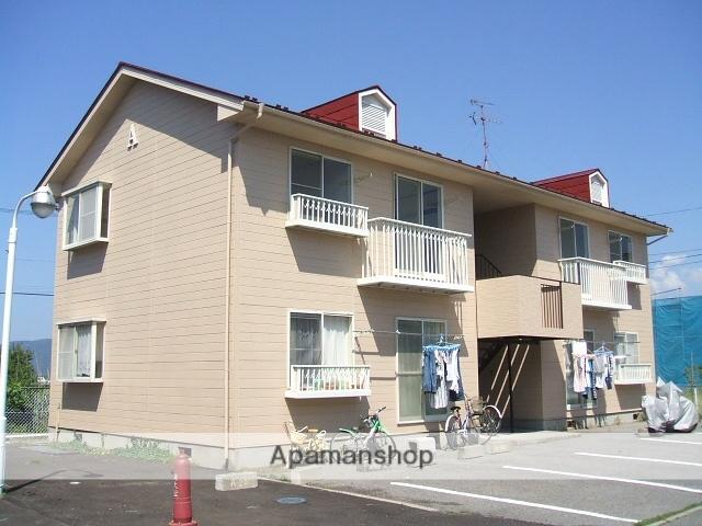 長野県安曇野市、中萱駅徒歩10分の築27年 2階建の賃貸アパート