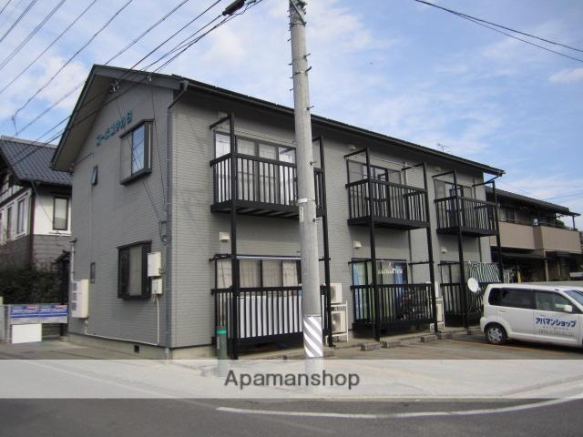 長野県安曇野市、一日市場駅徒歩28分の築18年 2階建の賃貸アパート
