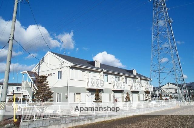長野県安曇野市、柏矢町駅徒歩5分の築22年 2階建の賃貸アパート