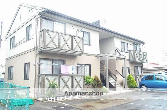 長野県松本市、島高松駅徒歩5分の築23年 2階建の賃貸アパート