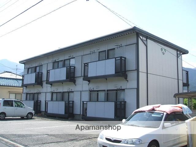 長野県松本市、波田駅徒歩10分の築23年 2階建の賃貸アパート