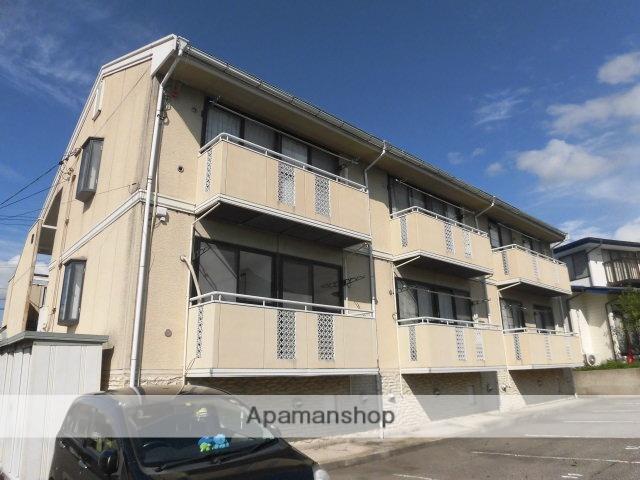 長野県中野市、信州中野駅徒歩15分の築15年 2階建の賃貸アパート