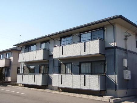 長野県長野市、附属中学前駅徒歩20分の築19年 2階建の賃貸アパート