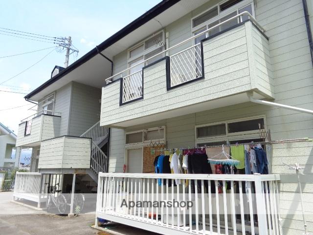 長野県須坂市、村山駅徒歩19分の築26年 2階建の賃貸アパート