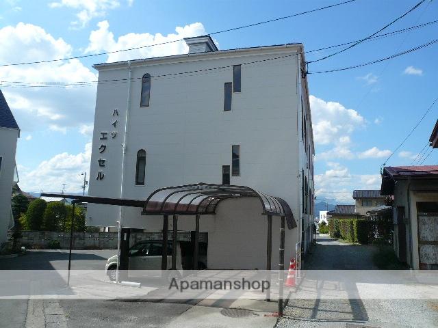 長野県須坂市、日野駅徒歩19分の築29年 3階建の賃貸アパート