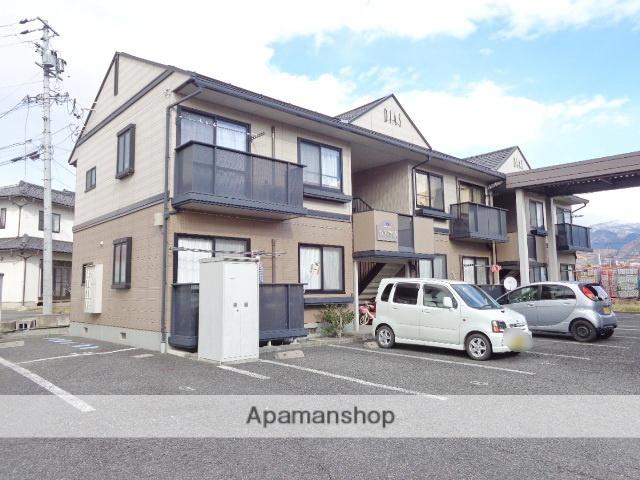 長野県中野市、信州中野駅徒歩19分の築18年 2階建の賃貸アパート