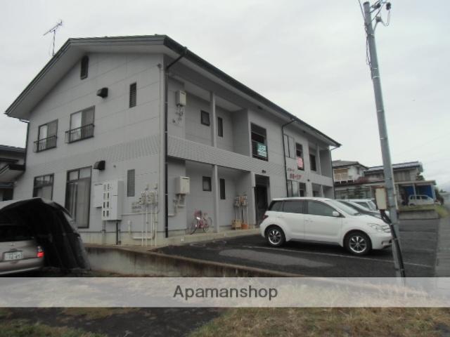 長野県中野市、信州中野駅徒歩7分の築23年 2階建の賃貸アパート