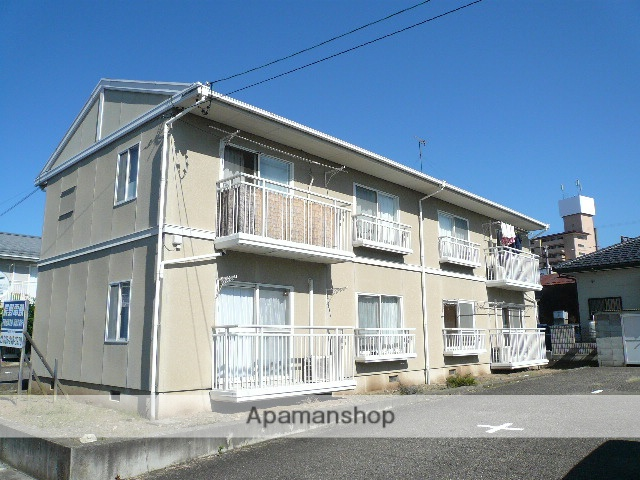 長野県須坂市、日野駅徒歩20分の築25年 2階建の賃貸アパート