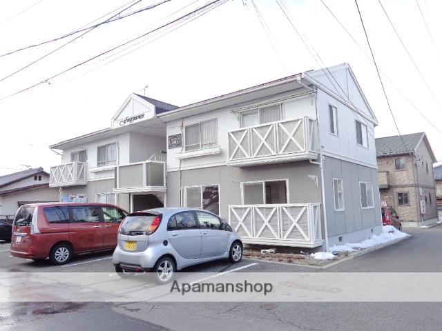 長野県須坂市、須坂駅徒歩10分の築27年 2階建の賃貸アパート